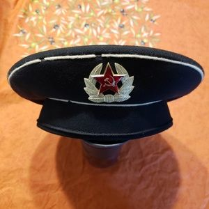 Authentic Soviet Russian Naval Guard Sailers Cap